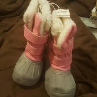 Girls toddler snow boots size 7 Tobyhanna, 18466