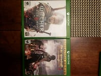 two Xbox One game cases Middletown, 10940