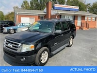 2007 *Ford* *Expedition* XLT Sport Utility 4D suv Black Monroe