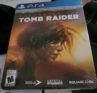 Tomb Raider SteelBook Edition PS4 North York