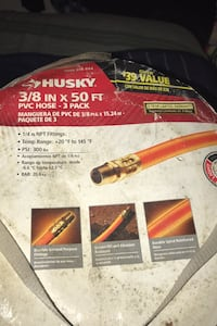 3/8 inch x pvc hose 50 ft have 3 pack never even use don't need. Temple Hills, 20748