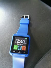 blue and black smart watch Pineville