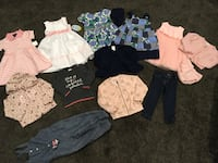 Baby girl lot sz2t $80 for the whole thing Edmonton, T5T 7B9
