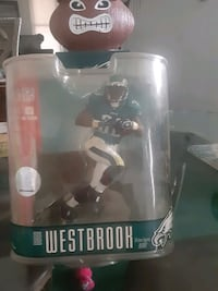 BRIAN WESTBROOK FIGURE. STILL IN ORIGINAL PACKAGE.