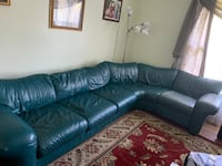 Genuine Leather Sofa 6-Seater