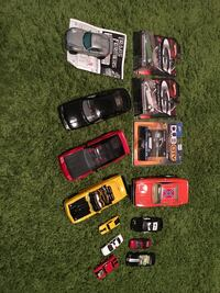 Die cast metal cars and transformer and model cars  Maple Ridge, V2X 3V9
