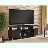 """New Ameriwood Home Carson TV Stand f TVs up to 70"""" 1211 mi"""