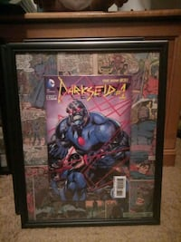Justice league / Darkside #1 holographic comic book picture