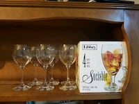 Brand new Wine Glasses Mississauga, L5M 7B4
