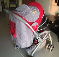 baby's gray and red stroller Bengaluru, 560001