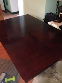 Dinning Room Table with 6 Chairs Linganore