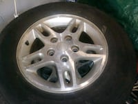 4 rims and tires for a jeep Pompano Beach, 33064