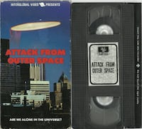vhs Attack From Outer Space 1986 Interglobal Video Are We Alone in the Newmarket