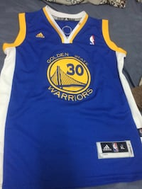 blue and yellow Adidas Golden State Warriors Stephen Curry jersey Toronto, M6M 2H7