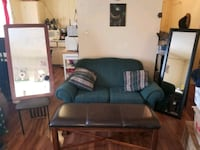 Loveseat and bench and 2 mirrors Edmonton, T5P 0X7