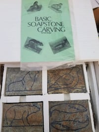 Actual soap stone carving pieces
