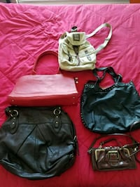 Purses - Handbag - Backpack  Toronto, M2J 0B1