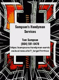Handyman Services Chesterfield