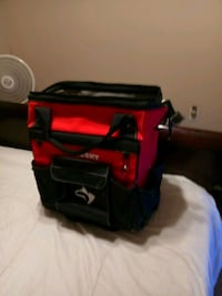 Husky tool bag on wheels like new lots of pockets  Hutto, 78634