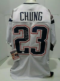 Patrick Chung Autographed Jersey Lincoln
