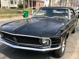 Ford Mustang convertible 70 - 8cyl 4sp man tranny