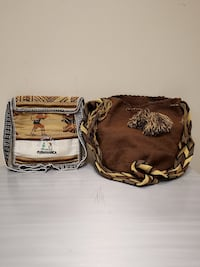 Two Handmade Fabric Bags - $ for both bags purchased together (firm). Arlington, 22204