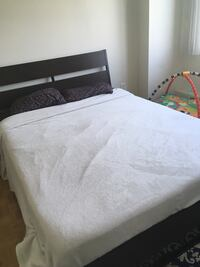 IKEA bed queen size with mattress Mississauga, L5A 3Y4