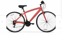 red and black hardtail mountain bike TORONTO