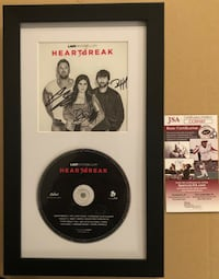 Lady Antebellum Signed Autograph all Three w/ JSA COA Centreville