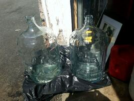 Vintage water jugs made in Mexico