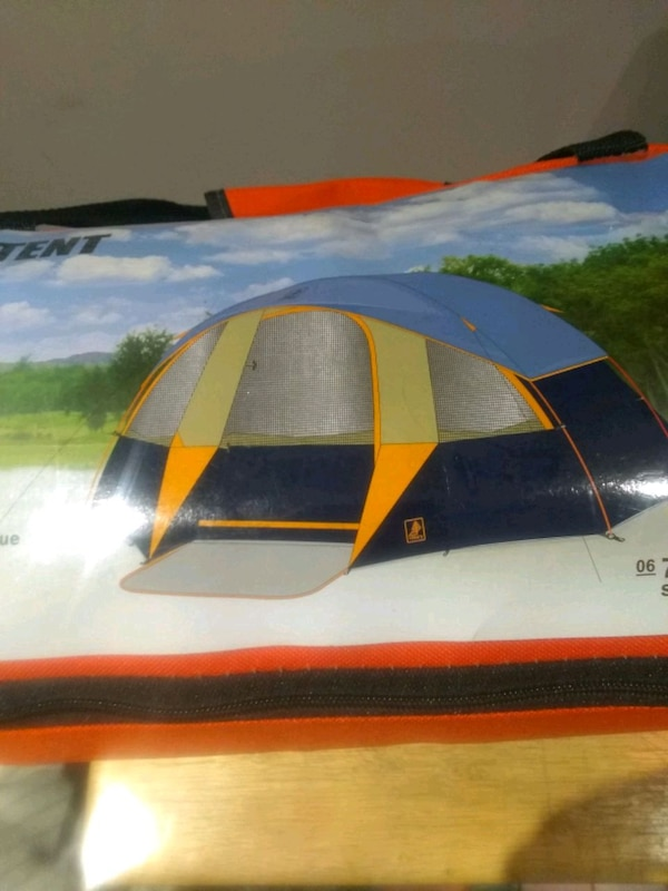 6 MAN DOME TENT NEW