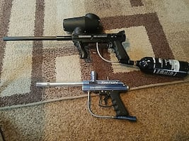 Paint ball guns