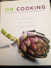 5th edition On Cooking a textbook of culinary fundamentals Reno, 89503