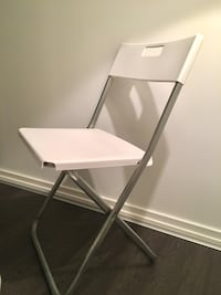 Foldable plastic chair (pickup only)