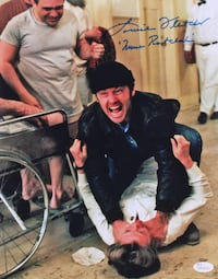 """Louise Fletcher Hand Signed """"One Flew Over the Cuckoo's Nest"""" 11x16 Photo Inscribed Nurse Ratched"""