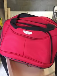 Red carry on bag Nashville, 37216