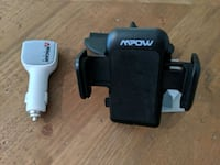mpow car phone holder and charger West Vancouver, V7T 0A1