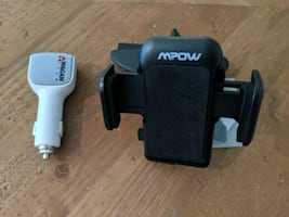 mpow car phone holder and charger