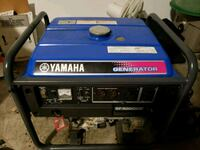 blue and black Yamaha portable generator North Little Rock, 72116