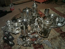 Silver plated stuff