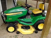 john deere x320 ride on mower Goldvein, 22720