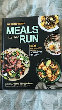 Meal's on the run cookbook Toronto, M9R 3Z1