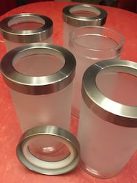 IKEA Glass Jars with rubber seal Toronto, M8V 2S7