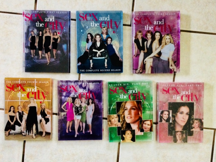 Photo SEX AND THE CITY DVD SETS SEASONS 1 - 6
