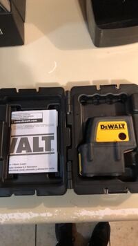 DEWALT DW084 SELF LEVELING LEVEL
