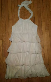 White Halter Dress Le Chateau Size Small worn once Toronto, M4B 1J9