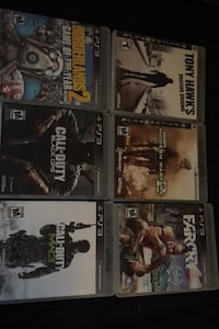 6 PlayStation 3 games  Lancaster, 01523