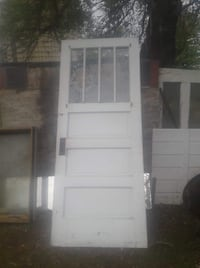 34 inch solid Wood multi paned door Fort Atkinson, 53538