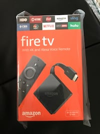 Amazon fire tv new never open