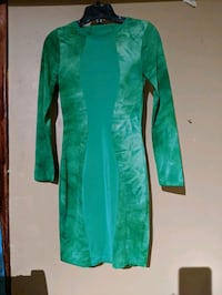 Small spandex dress. Can also find a medium body. Green  Toronto, M9P 2K4